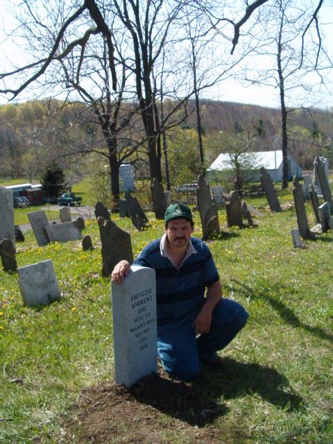 Ebenezer Andrews Tombstone