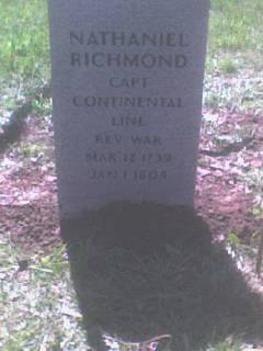Richmond Tombstone