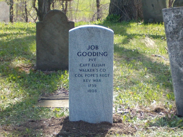 Job Gooding Tombstone